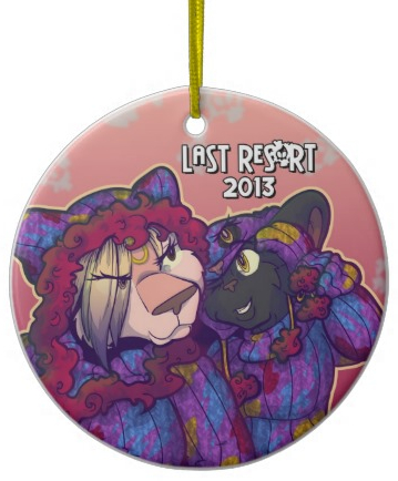 Last Res0rt's 2013 Ornament, featuring Team Gemini!